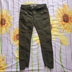 """""""V.I.P."""" Stretchy Jeans Capris"""